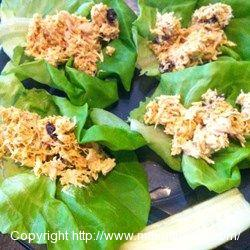 Curried Salmon Wraps